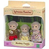 Sylvanian Families Monkey Family Set (Multi-Colour)