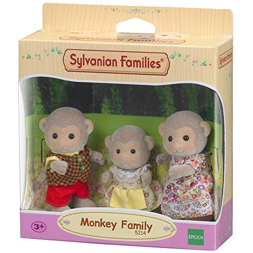 Sylvanian Families - 5214 - Affen: Familie Kletter