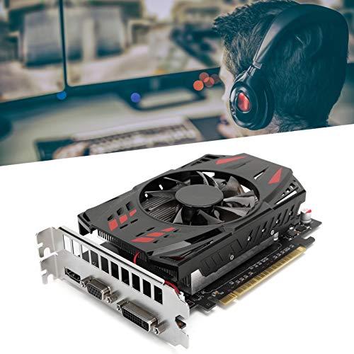 wosume 【𝐕𝐞𝐧𝐭𝐚 𝐑𝐞𝐠𝐚𝐥𝐨 𝐏𝐫𝐢𝐦𝐚𝒗𝐞𝐫𝐚】 Tarjeta gráfica GTX1050ti, Tarjeta gráfica para Accesorios de Red de computadoras de Escritorio 780MHz GTX1050Ti 4G 128Bit DDR5