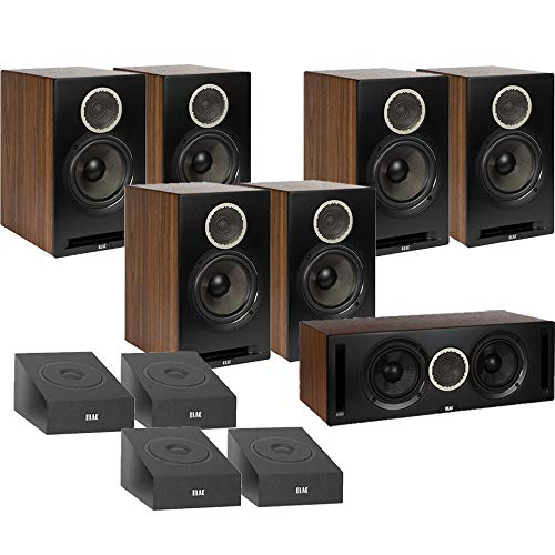 Big Save! ELAC Debut Reference DB62 11.0 Channel Bookshelf Dolby Atmos Surround Sound Home Theater S...