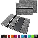 NAUC Schutzhülle für Medion Akoya Akoya E4271 E4272 Convertible Tasche Hülle Filz Sleeve Cover Notebook Case, Farben:Hell Grau