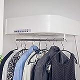 PROELIT ST 51 SCIUGARELLA LIGHT – asciugabiancheria elettrica ad aria – Asciuga e stira fino a 5kg di bucato in soli 50cm – puoi dire addio all'ingombro dello stendino e alla fatica del ferro da stiro
