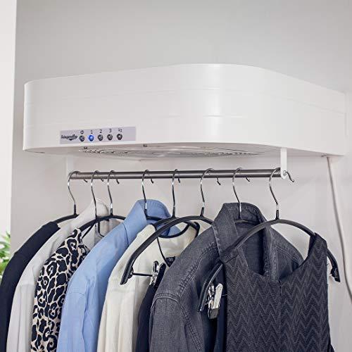 CBR Light–secadora eléctrica de aire–seca y STIRA hasta kg. de ropa en Solo 50cm–puedes decir adiós AL tamaño del Tendedero y A La molestia de impulsar EL Plancha