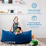 Harkla Hug (60 inches) - Inflatable Sensory Peapod for Children with Sensory Needs - Therapeutic Compression Sensory Chair for Ages 6 to 12 - Air Pump and Repair Kit Included