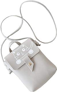 UNI Women Portable Small Crossbody Bag Shoulder Bag Smartphone Wallet Bag Cute Cat