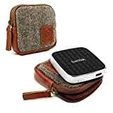 Tuff-Luv Herringbone Tweed Travel case für Sandisk Connect