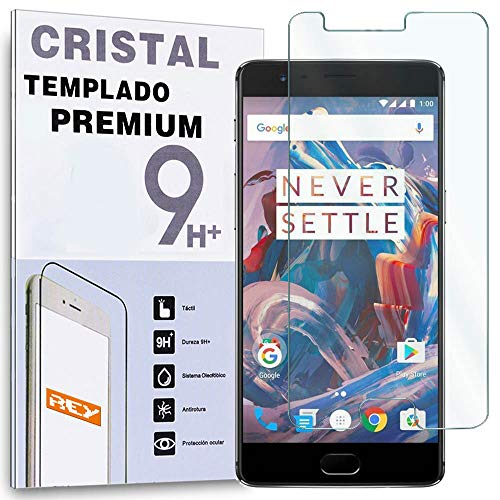 Protector de Pantalla para oneplus One Plus 3 Three/ONEPLUS 3T, Cristal Vidrio Templado Premium