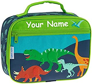Personalized Stephen Joseph Dinosaur Dino Themed Lunch Box With Name
