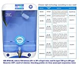 KNL Healthy Drops, KNL-NF20-AR, NF (Nanofiltration) Water Purifier with Alkaline Regulator, Used for input TDS up to 200 ppm, 13 LTR Detachable Tank, Safer Than UV+UF+TDS Adjuster System