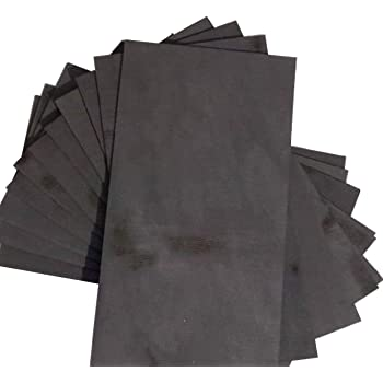 100*100*10mm 99.9/% Pure Graphite Block Electrode Rectangle Plate Blank Sheet !