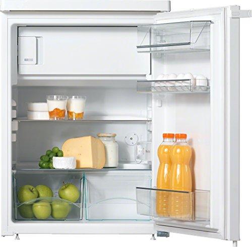 Miele K 12024 S-3 Stand Kühlschrank / 85 cm hoch / 126 l Kühlzone / 18 l Gefrierzone / leichte Reinigung - ComfortClean / integriertes 4*-Gefrierfach / Türanschlag wechselbar / Weiß[Energieklasse E]