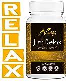 FÜR DIE NERVEN² von nutritify® JUST RELAX - natürlicher Stimmungsaufheller mit B6² für die Psyche & Nervensystem | B12³ gegen Müdigkeit und Ermüdung - 120 rezeptfreie Kapseln mit Rosenwurz & L-Taurin