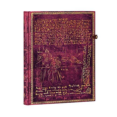 Paperblanks Faszinierende Handschriften Die Brontë Geschwister Notizbuch Ultra Liniert Sonderausgabe (Special Edition)
