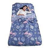 Azarxis Saco de Dormir Sábana de Bolsa de Viaje Suave Limpio Ligero Ideal para Hostels Tienda de Campaña
