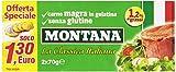 Montana - La Classica Italiana, Carne Magra in Gelatina, Senza Glutine - 4 confezioni da 2 scatolette da 70 g [560 g, 8 scatolette]
