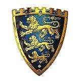 Liontouch 29101LT Escudo de Juguete de Espuma del Rey de los Tres Leones para niños   Forma Parte de la línea de Disfraces para niños