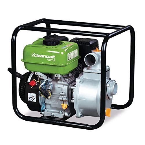 Stormer Cleancraft FWP 50 zoetwaterpomp (benzine, 4-takt motor, debiet 566 l/min, looptijd ca. 2,5 h) 7500050