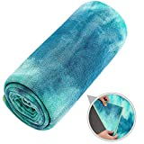 Ewedoos - Telo da yoga con angoli ad ancora, antiscivolo, 100% microfibra, super morbido, ...