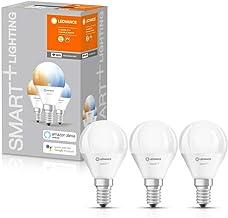 LEDVANCE LED lamp   Lampvoet: E14   instelbaar wit   2700…6500 K   5 W   SMART+ WiFi Mini Bulb instelbaar wit [Energie-eff...