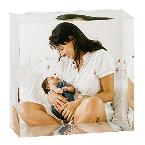 Custom Photo Cube Mothers Day Gifts (3x3)