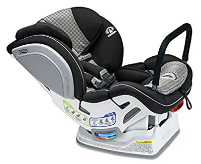 Britax Advocate ClickTight Anti-Rebound Bar Convertible Car Seat - 3 Layer Impact Protection - Rear & Forward Facing - 5 to 65 Pounds, Venti
