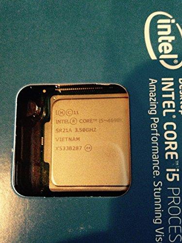 Intel Core i5-4690K Processor 3.5 LGA 1150 BX80646I54690K (Renewed)