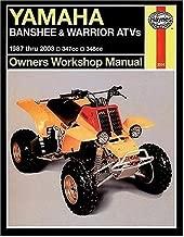 Yamaha Banshee & Warrior atvs 1987-2003 (Haynes Repair Manuals)