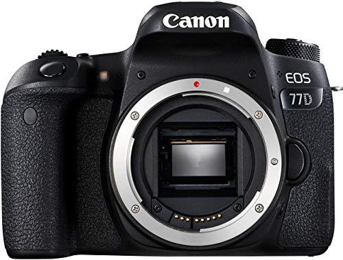 Canon EOS 77D Body (Renewed)