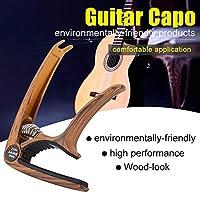 あらゆるギター技術者のためのギター愛好家のためのポータブルギターチューナー(Imitation rose wood grain)