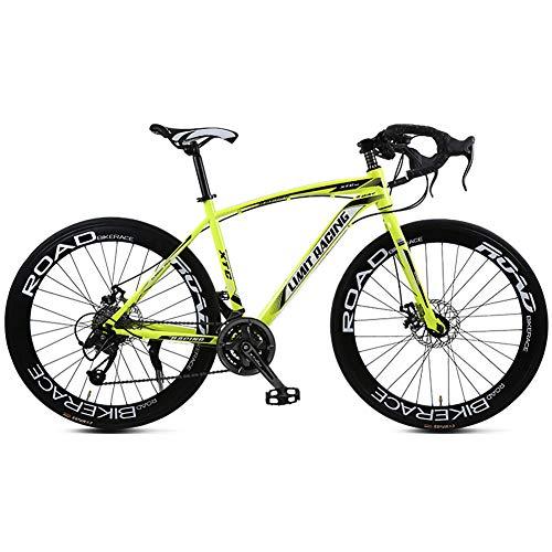 TYSYA Bicicleta Carretera 27 Velocidades 700C Adulto Estudia
