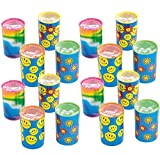Kicko Mini Kaleidoscope Prism Toy 1.75 Inches - Pack of 16 - Assorted Colors and Designs Mini Prism - for Kids - Party Favors, Bag Stuffers, Fun, Prize