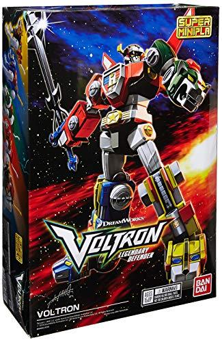 Bandai Shokugan BAN28916, Figurina Super Mini Pla Voltron Model Kit, Bianco