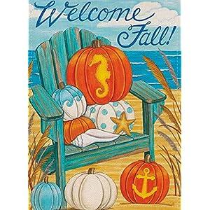 51RQatvdtrL._SS300_ Beach Fall Decorations & Beach Autumn Decor