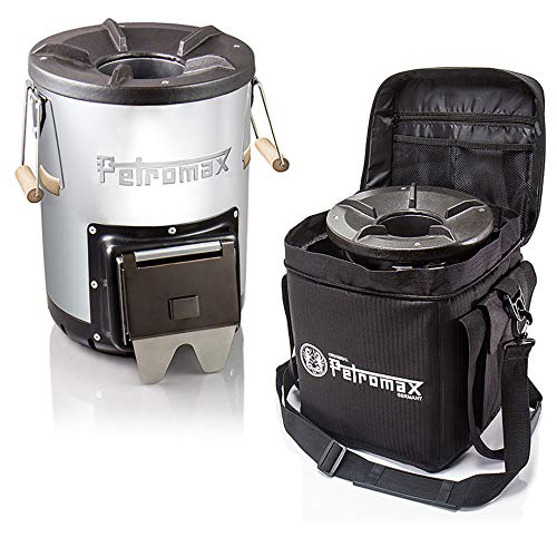Petromax Raketenofen rf 33 Outdoor-Kocher Starterset mit Tasche