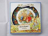 WEDGWOOD ウェッジウッド PETER RABBIT ピーターラビット Christmas Plate クリスマスプレート 2001
