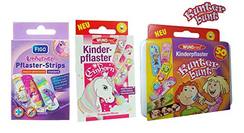 70 Kunterbunte Kinderpflaster Pflaster Kinder Wundpflaster Kunterbunt