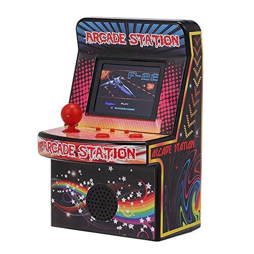 SODIAL Videogioco portatile retro' a 8 bit Mini Arcade Game Machine 240 Giochi classici integrati