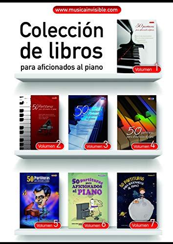 """Colección Completa """"50 Partituras Para Aficionados Al Piano"""""""