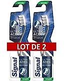 Signal Brosse à Dents Ultra Access Souple, Nettoyage Impeccable, Précision - Lot de 2