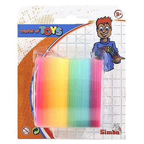 Simba 108616295 - Muelle saltarín de colores, 6 cm [Importado de Alemania]