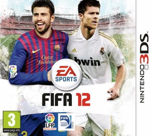 Electronic Arts FIFA 12, 3DS