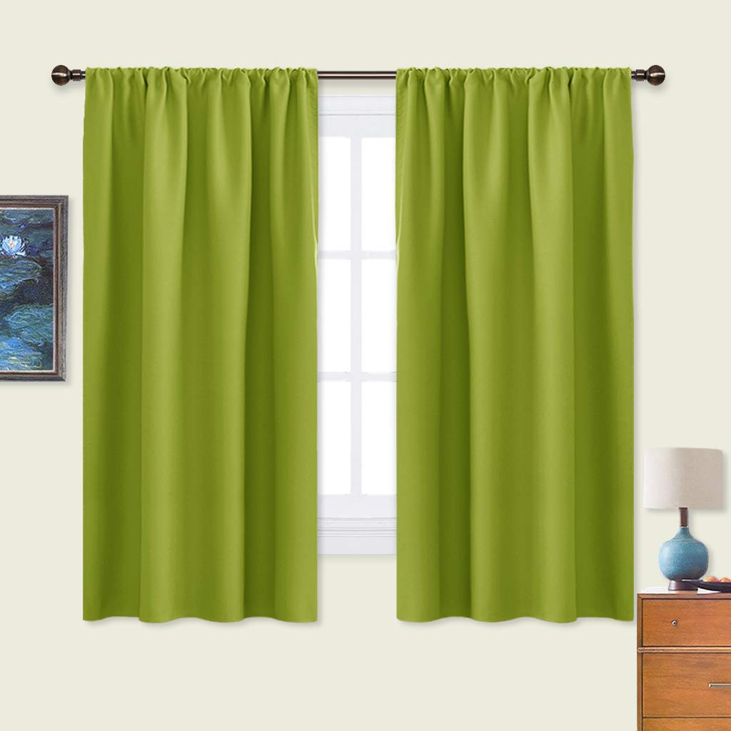Amazon & Lime Green Curtains: Amazon.com