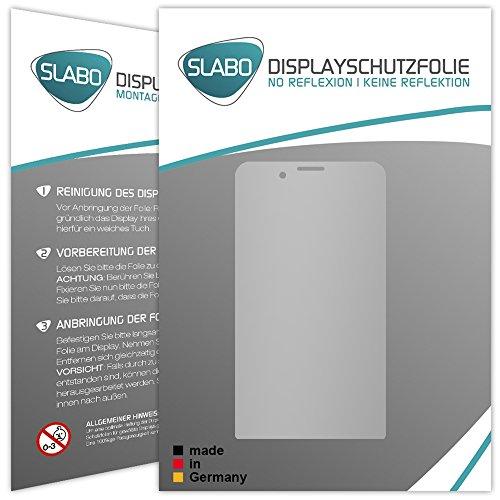 Slabo 2 x Bildschirmfolie für Cyrus CS35 Bildschirmschutzfolie Zubehör No Reflexion MATT