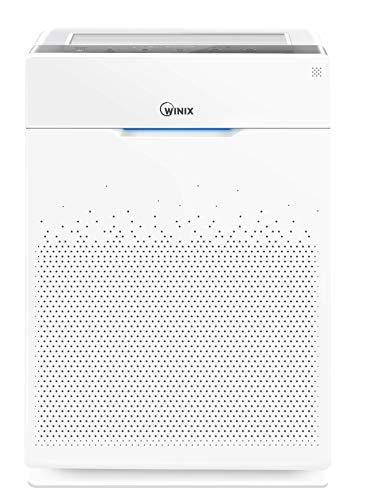 Winix Zero Pro. Purificatore d'aria per ridurre Virus, Batteri, Allergeni e Cattivi Odori, con filtro HEPA (99,97%), Carbone Attivo e tecnologia PlasmaWave. Fino a 120m² e CADR di 470m³/h