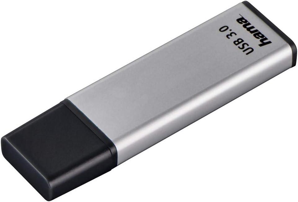 Hama 64gb Usb Stick Usb 3 0 Datenstick Silber Computer Zubehör