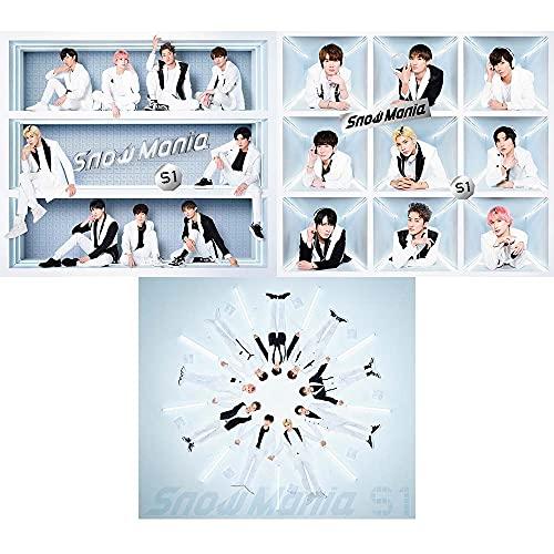 DVDセット 【購入者特典3種付】 Snow Man Snow Mania S1 【 初回盤A+B+通常盤 】