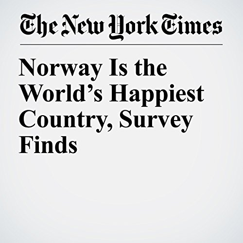 Norway Is the World's Happiest Country, Survey Finds copertina