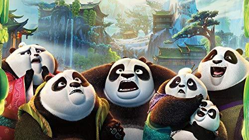 Zheng Adultos Puzzle 1000 Piezas Puzzles Kung Fu Panda-Happy Panda Heroes - Puzzle Regalos Para Personas Mayores Juegos De Rompecabezas Para La Damilia Decoración Del Hogar 50X70 Cm