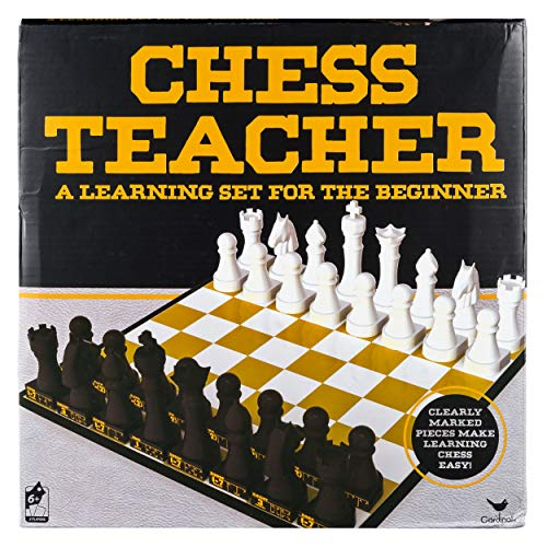 Cardinal Games Chess Teacher Board Game, Learning Educational Toys for Kids and Adults, Multicolor