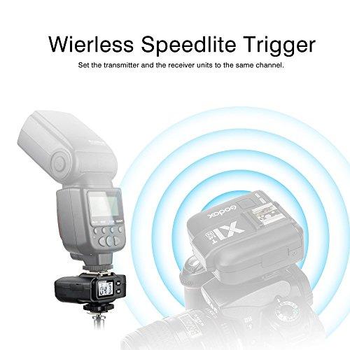Godox X1R-Nフラッシュ トリガーレシーバ 2.4G受信機 遠隔制御可能